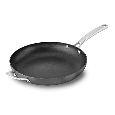 Calphalon 1934221 Classic Nonstick Omelet Fry Pan, 12 , Grey