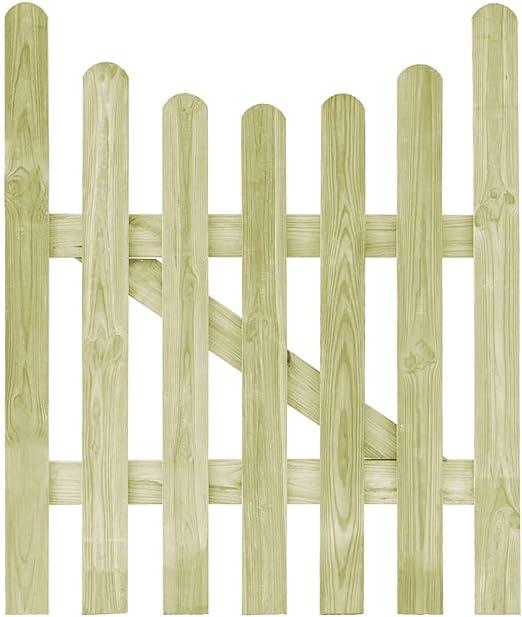 ghuanton Puerta de Valla de Madera de Pino impregnada FSC 100x120 cmBricolaje Vallas de jardín Puertas de jardín: Amazon.es: Hogar
