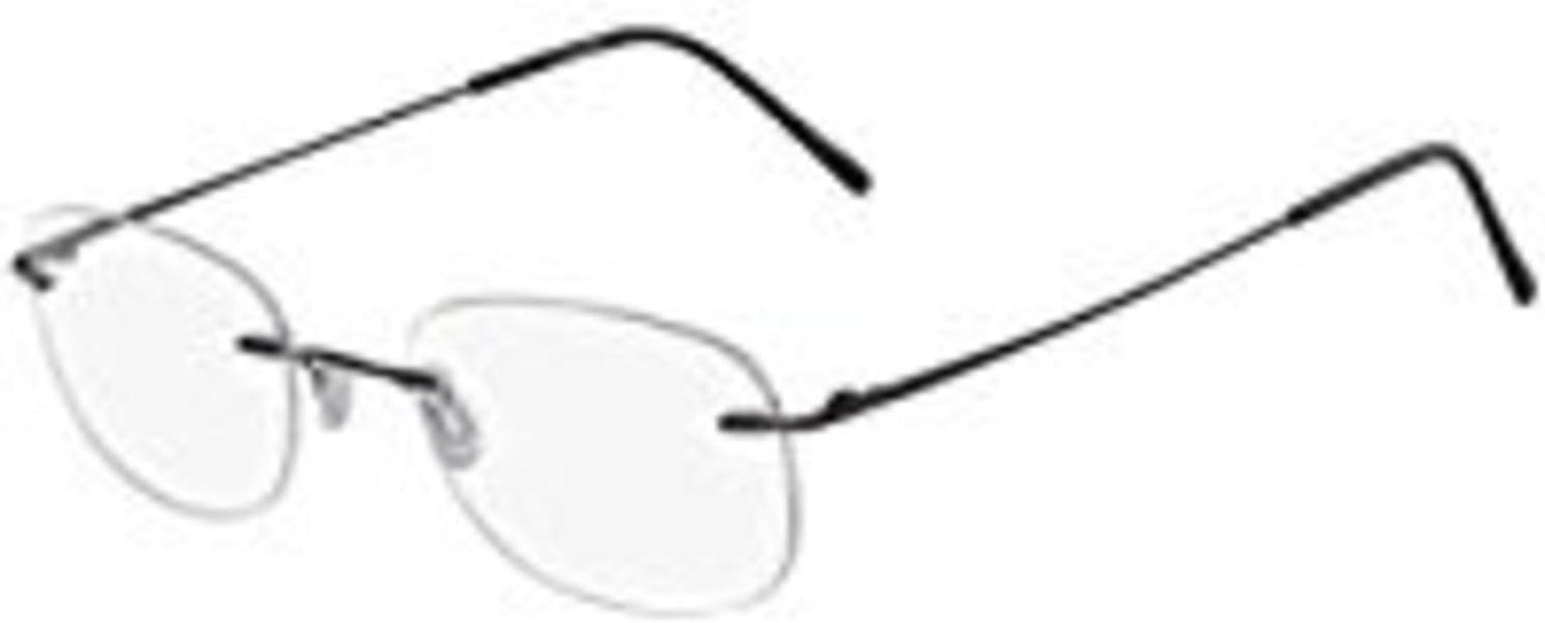Eyeglasses MARCHON AIRLOCK AL WISDOM 046 SATIN SILVER