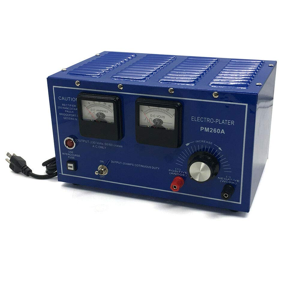 110V Platinum Gold Silver Rhodium Plating Machine US Shipment 30A Jewelry Plating Rectifier