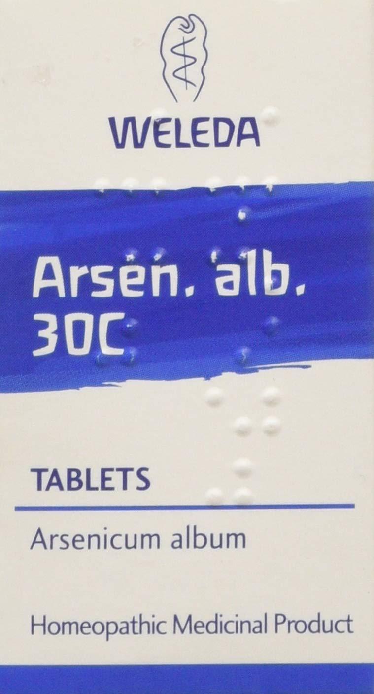 Weleda Arsen Alb 30C, Pack of 125 Tablets