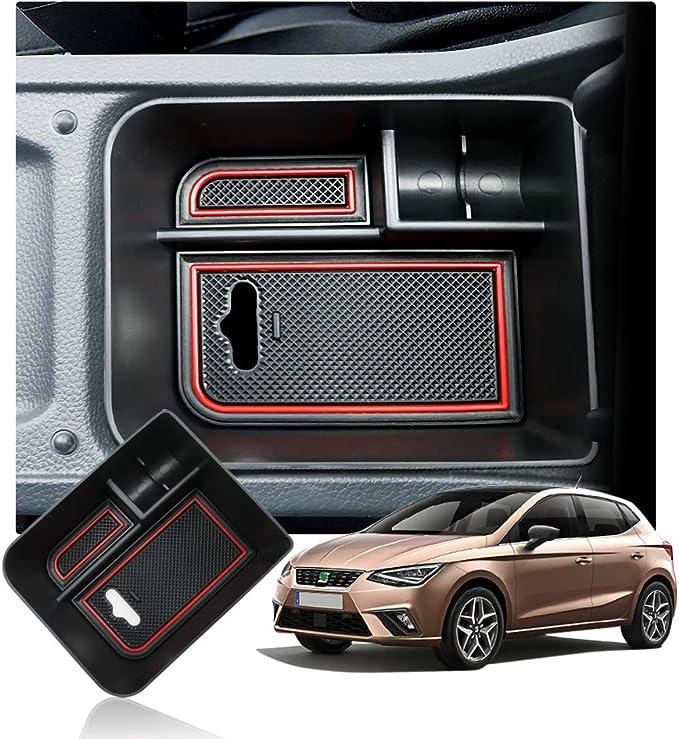 Aktualisieren Seat Arona Suv Mittelkonsole Handschuhfach Armlehne Aufbewahrungsbox Mittelarmlehne Center Console Armrest Storage Box Innen Auto