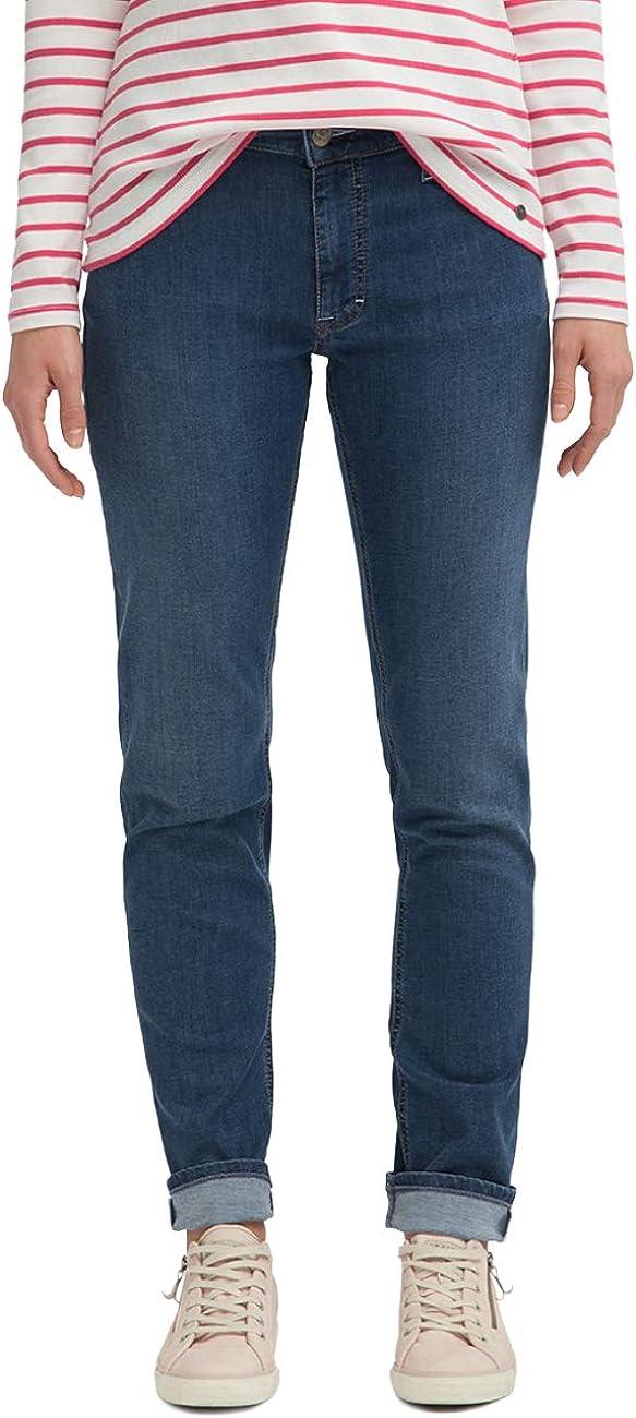 MUSTANG Damen Slim Fit Sissy Slim Jeans 5000-502 Mttelblau