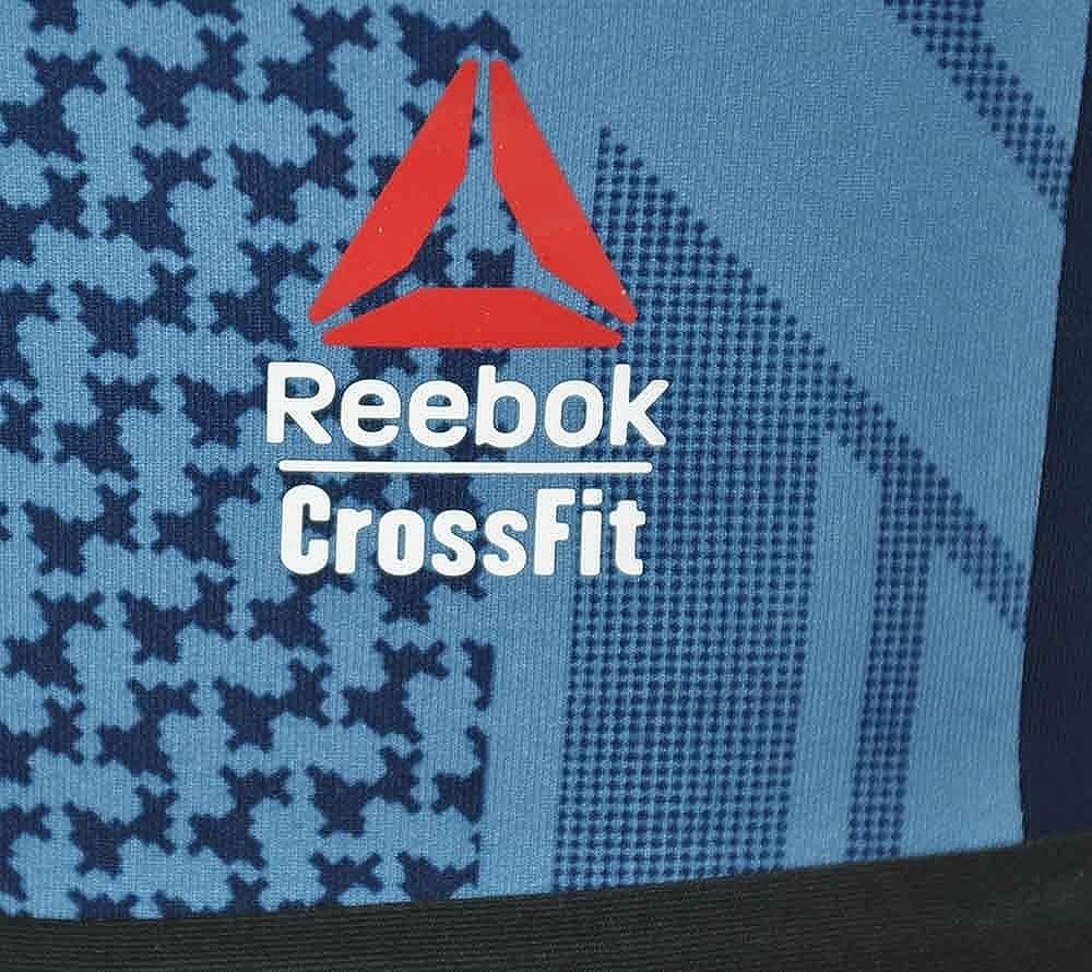 Reebok RCF Chase Bootie Short Femmes Fitness court Studio Crossfit Shorts Navy