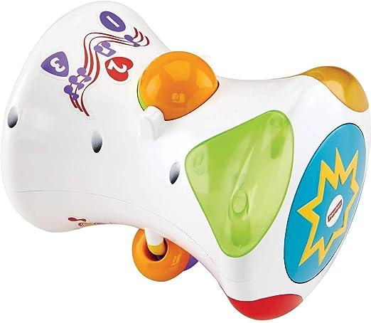 Fisher-Price-Cfn02 Disney 2 In 1 Musical Drum Roll, (Mattel Spain 25CFN02): Amazon.es: Juguetes y juegos