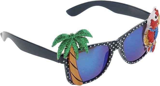 MagiDeal Hawaiano Tropical Gafas Disfraz Cocotreo Accesorio de ...