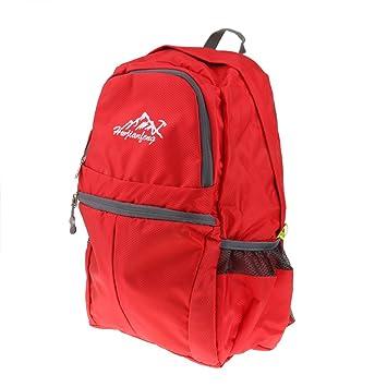 20L Mochila Plegable Bolsa De Viaje Mochilas De Acampada Viaje Senderismo Grande Para Hombres Mujeres Niñas - Rojo, 308x218x420mm: Amazon.es: Deportes y ...