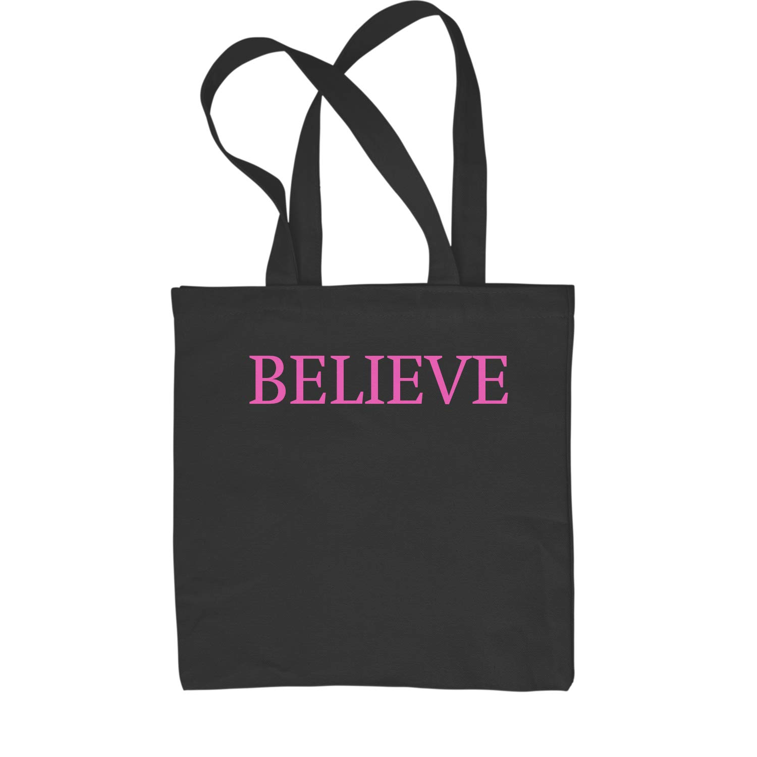 Expression Tees Believe Shopping Tote Bag