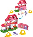 Little People - Set de juego, Casa sonidos divertidos (Mattel Y9359)