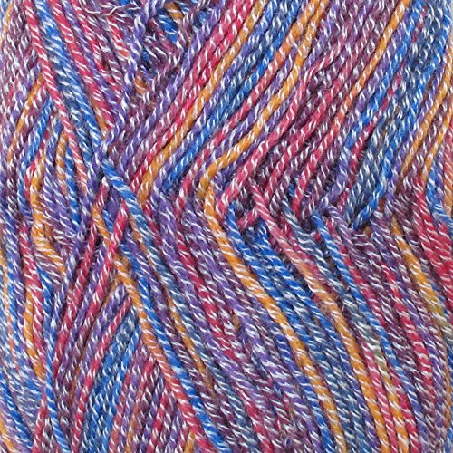 Super Fine Weight Soft and Slim Yarn Color 985 Confetti - BambooMN - 4 Skeins