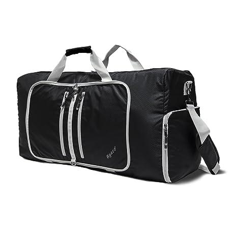 Ryaco R951 Bolsa de deporte, Plegable 82L Duffel Bag,Bolsos de Viaje Equipaje de