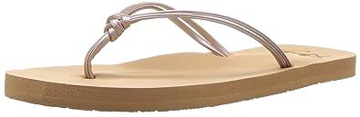 6403389fc963b2 Roxy Girls  RG Lahaina Flip Flop Sandals Flat