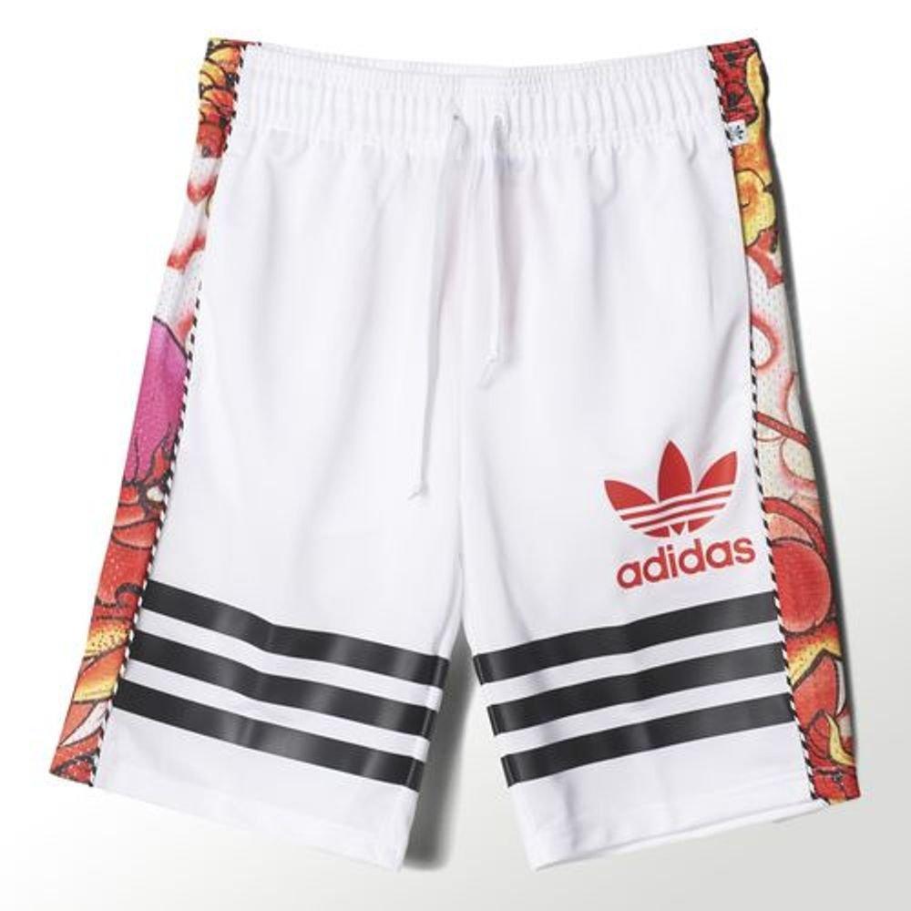 Adidas Women's Rita Ora Dragon Print Shorts S23581,XS