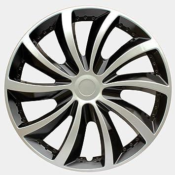 LUVCARPB 4 Piezas Tapacubos 14 Pulgadas Universal Car Iron Wheel ...