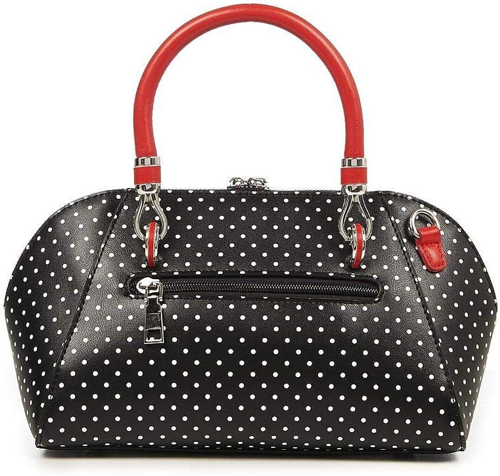 Banned Cherry Skulls Dots Vintage Handbag