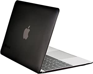 Speck Products SeeThru Case for MacBook 12-Inch, Textured Onyx Black