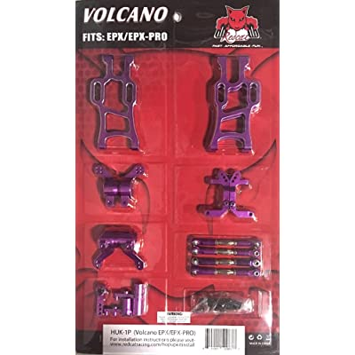 Redcat Racing HUK-1P Volcano EPX Hop Up Kit, Purple: Toys & Games