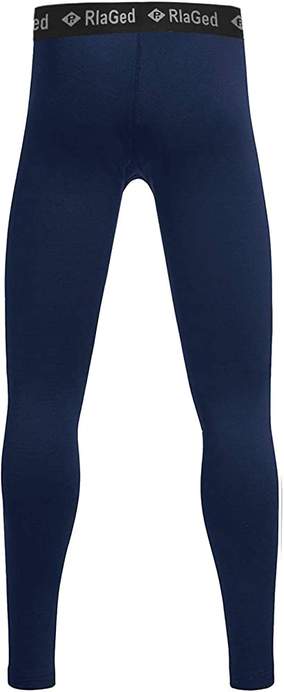 Rolimaka Boys Youth Compression Base Layer Pants Tight Running Leggings Trousers