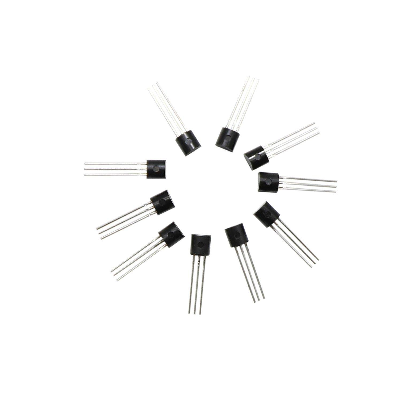 300 Pcs Transistors Kit 10 Value Bc327 Bc337 Bc517 Bc547 Bc548 Here Is A Very Simple Bc549c Transistor Amplifier Circuit Using An Bc549 Bc550 Bc556 Bc557 Bc558 Npn Pnp Power Assortment
