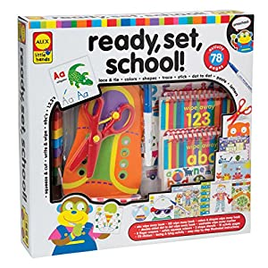 ALEX Toys Little Hands Ready Set School - 61CaoOMwO6L - Alex Discover Ready, Set, School Craft Kit Kids Art and Craft Activity