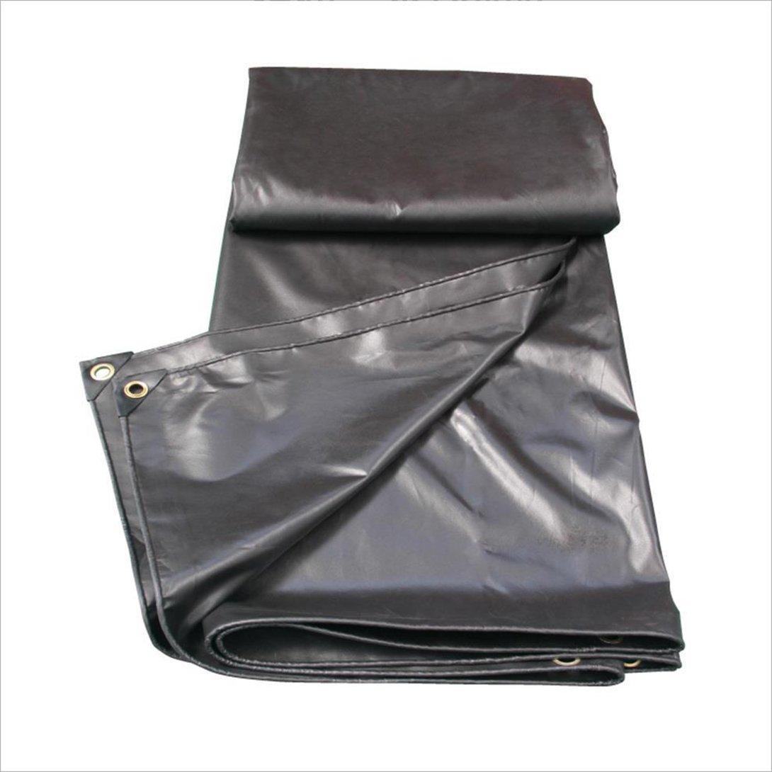 QX pengbu IAIZI Tarpaulin Doppelseitig wasserdicht Perforiert, geeignet für Zelte, Camping, erhältlich in Verschiedenen Größen, schwarz