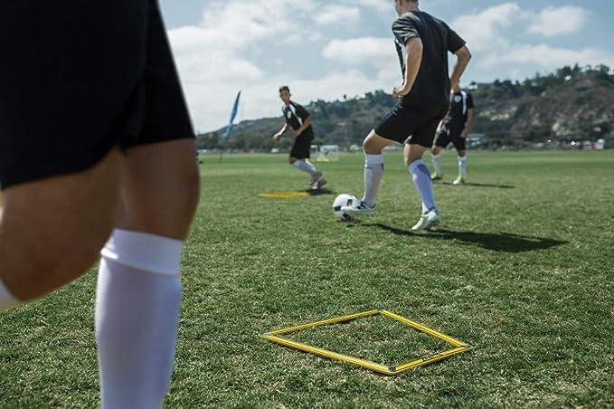 SKLZ 0849102029157 Agility Trainer Pro-Juego de 10, Unisex Adulto, Negro, Amarillo, Talla única: Amazon.es: Deportes y aire libre