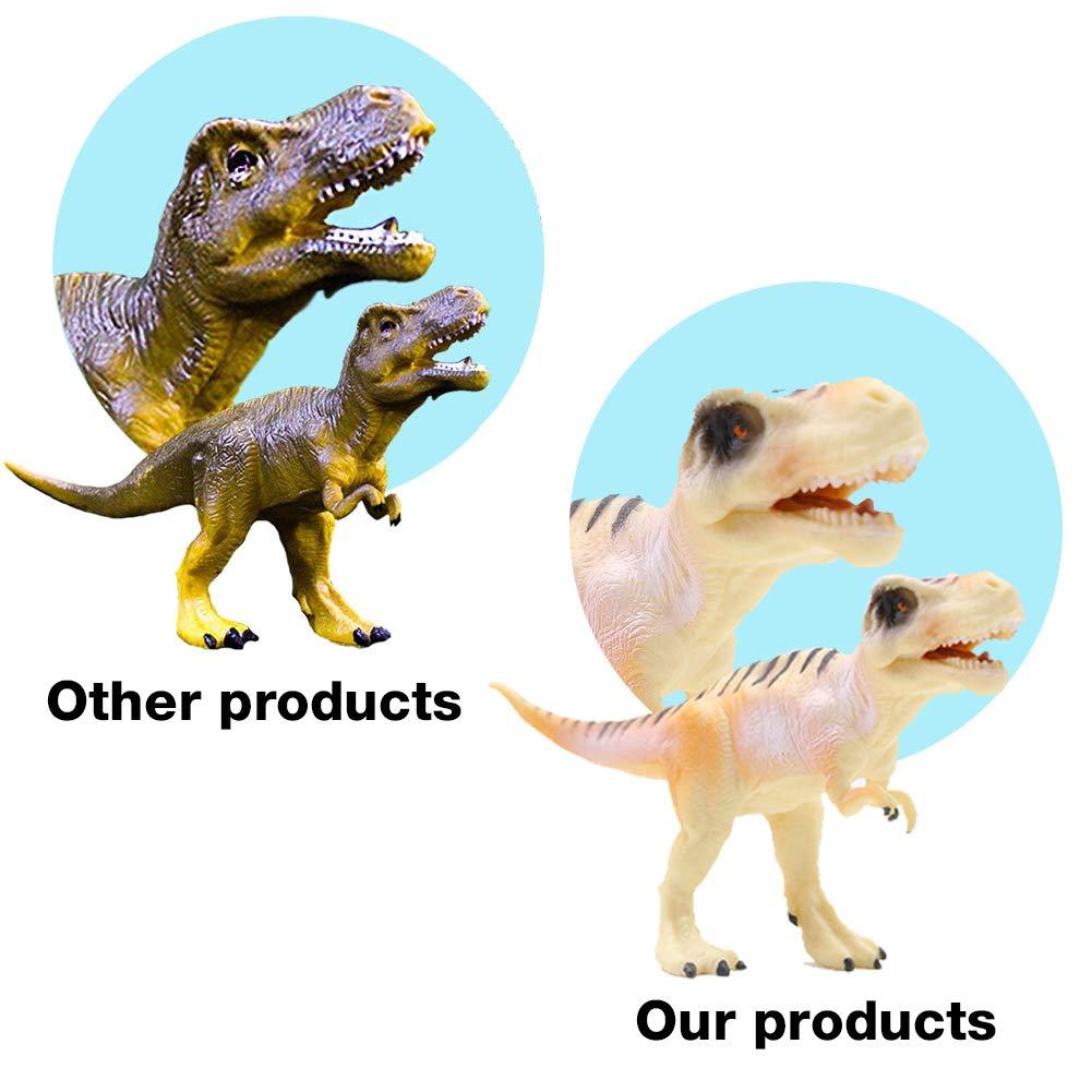 3 otters Dinosaur Toy Set, 12PCS 6\