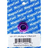 MagnaFuel MP-3071#6 O-Ring Port Plug with 1/8' NPT in Center