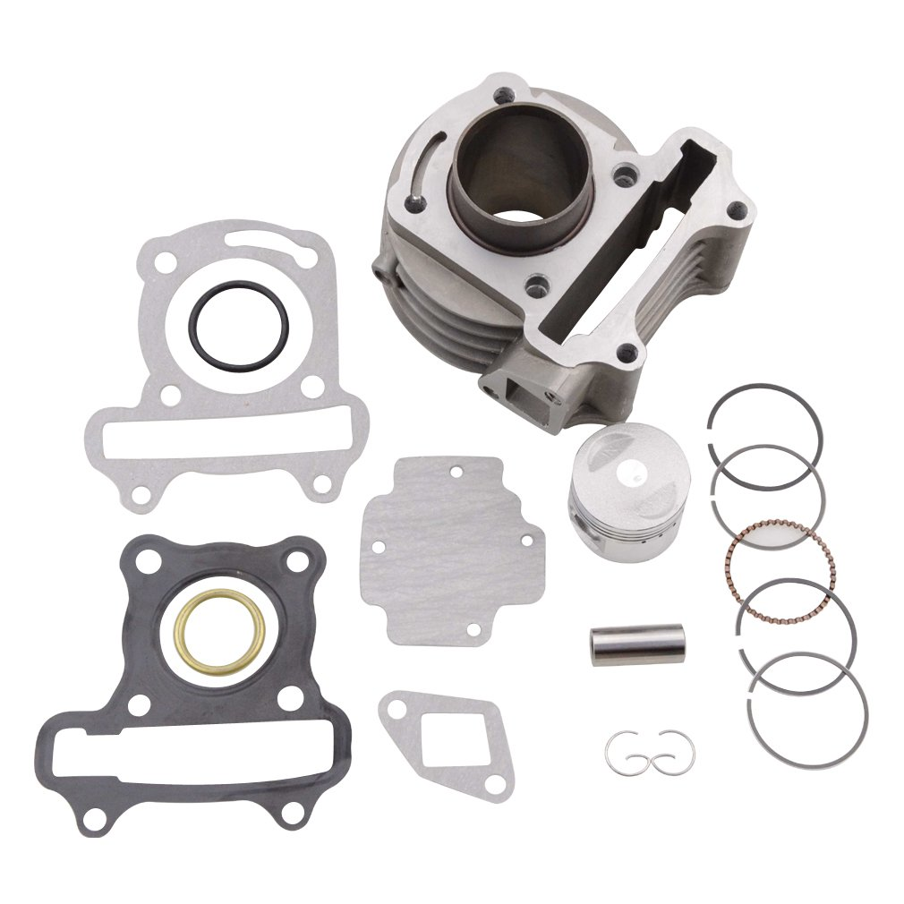 GOOFIT Cylinder Kit for 4 Stroke GY6 49cc 50cc ATV Scooter 39mm Bore