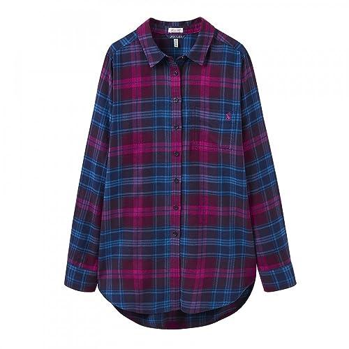 Joules Lorena Suelta Ajuste Camisa para Mujer (x)