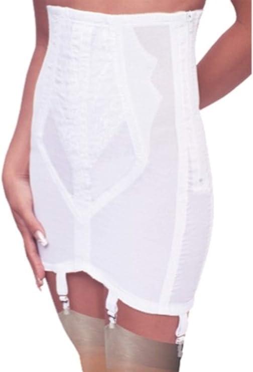 Vintage Lingerie   New Underwear, Bras, Slips Rago Womens High Waist Open Bottom Girdle with Zipper $62.00 AT vintagedancer.com