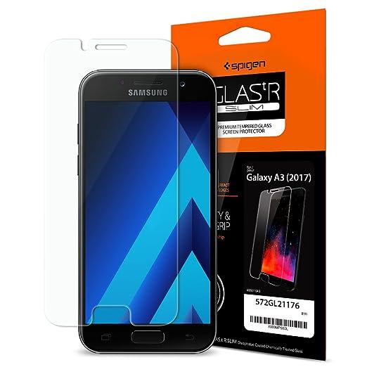 74 opinioni per [Installazione di Easy] Spigen® Pellicola Vetro Temperato Samsung Galaxy A3