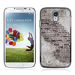 Graphic4You Flying For The Lightning Words Quote Design Hard Case Cover for Samsung Galaxy S4 S IV