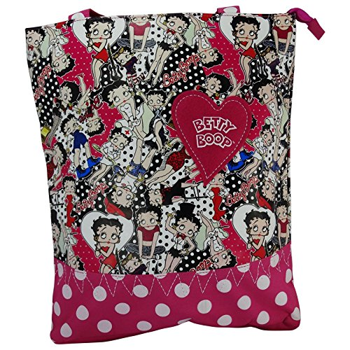 Betty Boop Yoga Borsa da Donna a Spalla Shopper