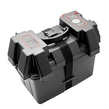 KKmoon Cargador Batería Moto Multifuncional 12V Cargador de ...