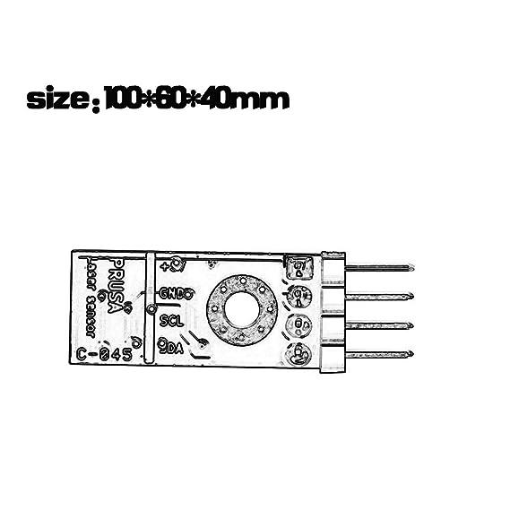 LasVogos Prusa I3 Mk3 Sensor de Impresora de filamento 3D Que detecta el filamento atascado y la Oferta: Amazon.es: Electrónica