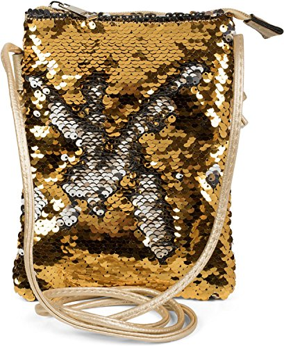 Spalla Sacchetto Mano Oro Paillettes Della Colore Stylebreaker Con Reversibili 02012240 Minisacca Signora Argento Mano Spalla Di ffqT4gz