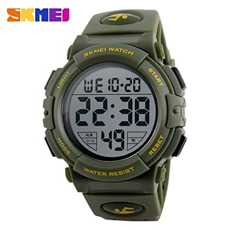 Digital Watches Brand Skmei Men Sports Watches 50m Waterproof Digital Led Military Watch Men Outdoor Electronics Wristwatches Relogio Masculino Watches