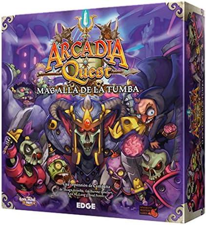 Edge Entertainment Arcadia Quest - Más allá de la Tumba, Juego de Mesa AQ02: Amazon.es: Juguetes y juegos