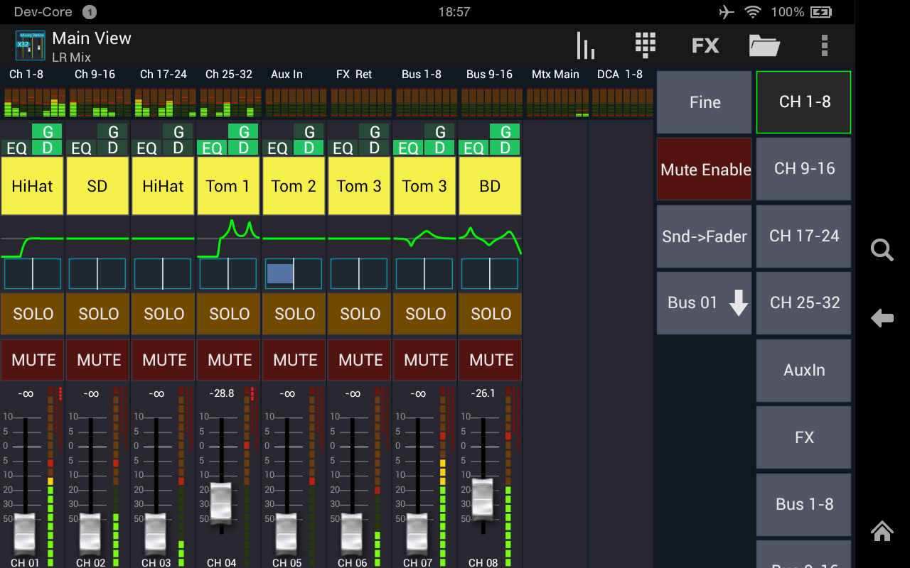mixing station xm32 pro appstore for android. Black Bedroom Furniture Sets. Home Design Ideas