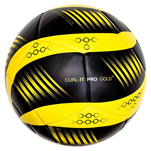(Bend-It Soccer Ball, Curl-It Pro Yellow)