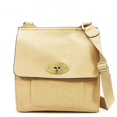 LeahWard® Medium Large Women s Cross Body Flap Handbags High Quality Faux  Leather Shoulder Across Body a295dee876981