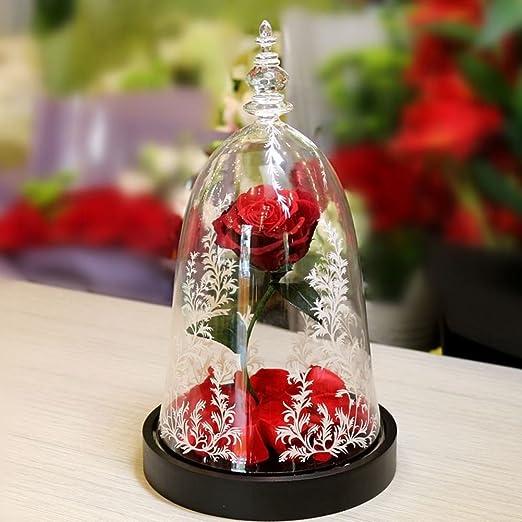 Rosa, Flor eterna,del Gran Regalo Caja Regalo de Lujo para día de ...