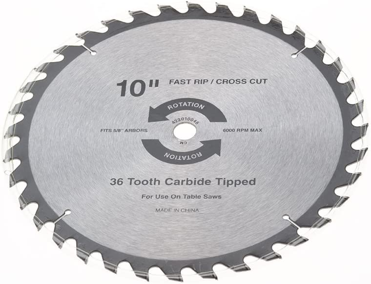 Craftsman 422010046 Replacement Blade For Table Saws Amazon Com