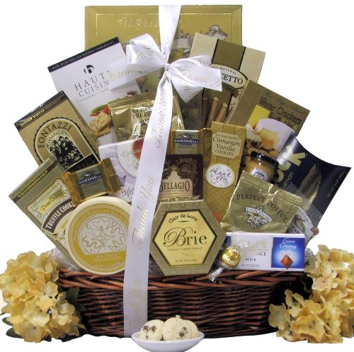 Great Arrivals Gourmet Thank You Gift Basket, Sincere Thanks