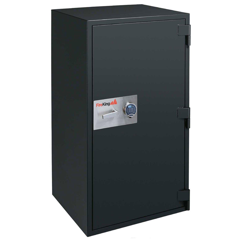 Fireking Fire & Burglary Safe, Combination lock, 50.31'' H x 29.81'' W x 30.75'' D/13.1 cu. ft., Graphite