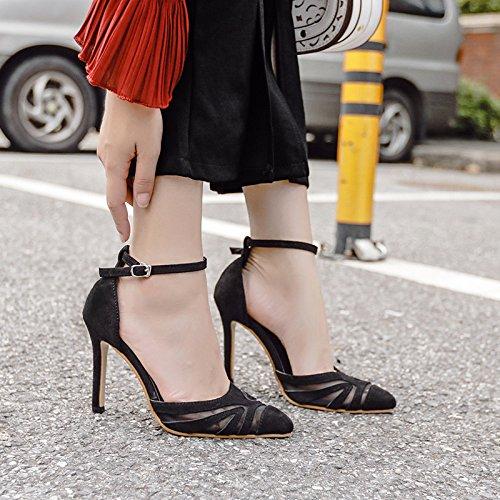 black Singles femeninos RUGAI UE zapatos 6HnqAp7vx