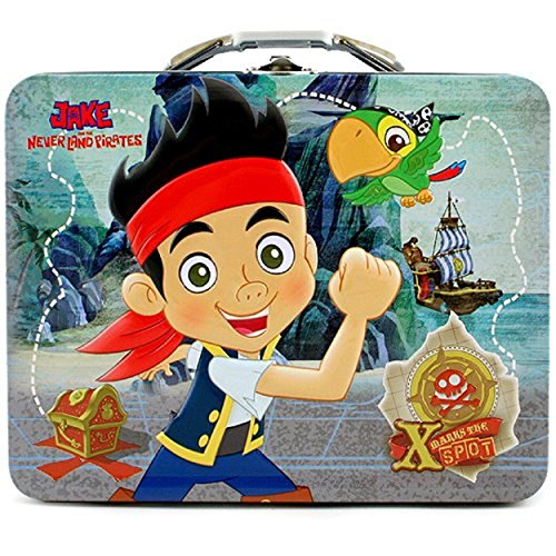 Jake and the Neverland Pirates Tin Box (Jake And The Neverland Pirates Cupcake Wrappers)