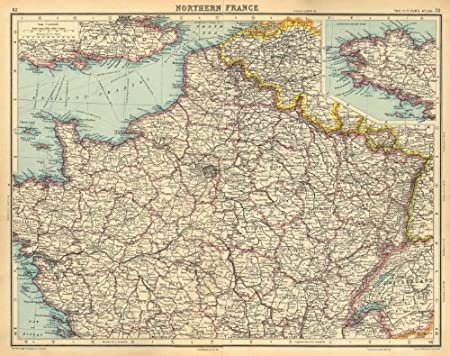 Map Of North France.Northern France Saar Basin Territory Under League Of Nations