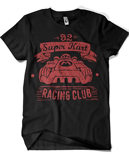 448-Camiseta Kart Racing Club (Azafran)
